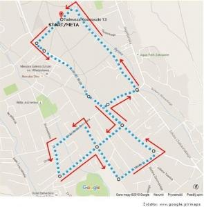 mapa trasa